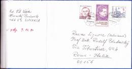 Cover - Slovakia To Roma, Itália - Postmark - Hronsky Beñadik, 19954 - Slowakije