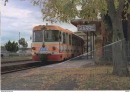265 FCE - Ferrovia Circumetnea ADe 15 Giarre Catania Railroad Train Italian Railways Treni Locomotiva OMS TIBB - Estaciones Con Trenes