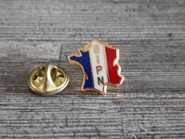 PINS SIPN - Carte De France - Badges