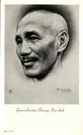 China Taiwan, Generalissimo Chiang Kai-shek, Kuomintang (1930s) Postcard - China