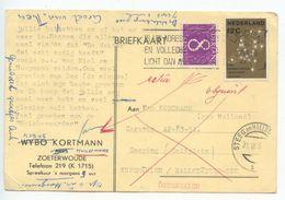 Netherlands 1962 Postcard Leiden To Kupsmühlen, Hallstätter-See, Austria - Camping Caravan AP-83-51 - Period 1949-1980 (Juliana)