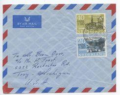 Netherlands 1965 Airmail Cover 'sGravenhage To U.S., Scott B395-B396 Semi-Postals - Period 1949-1980 (Juliana)