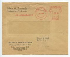 Netherlands 1964 Cover Amsterdam - Dekker & Nordemann's, Postalia Meter - Period 1949-1980 (Juliana)