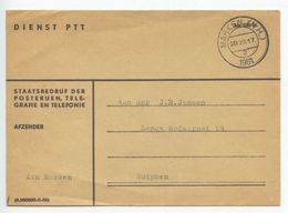 Netherlands 1961 Official Cover Marken - Dienst PTT, To Zutphen - Period 1949-1980 (Juliana)
