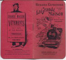 HORAIRE RÉPERTOIRE  SERVICE HIVER 1913-14 A DATER 10 OCTOBRE  GRANDE MAISON VALENCE 26 DROME CHEMIN DE FER PLM - Europe