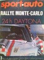 CA163 Autozeitschrift Sport - Auto, Rallye Monte-Carlo März 1971, Rallye Monte Carlo - 24h Daytona - Auto & Verkehr