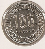 GABON 100 FRANCS 1972 76 - Gabón
