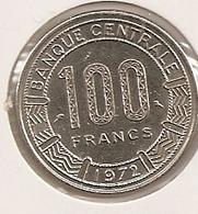 GABON 100 FRANCS 1972 76 - Gabon