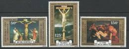 "Cameroun Aerien YT 255 à 257 (PA) "" Pâques "" 1977 Neuf** - Kameroen (1960-...)"