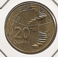 AZERBAIDJAN AZERBAIJAN 20 KAPIK   2006??? 76 - Azerbaïdjan
