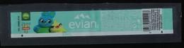 France Etiquette Eau Minérale Naturelle Evian 33 Cl Toy Story 4 Ducky Et Bunny - Etiquettes