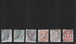 ITALIA 1924-Segnatasse Per Vaglia, Serie Compl.usata (Ref 1423 ) - 1900-44 Victor Emmanuel III.
