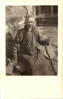 China, Old Native Chinese Man (1920s) Ingenohl's Real Photo Postcard - China