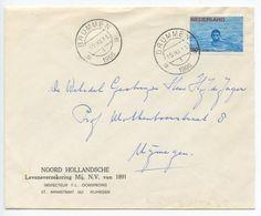 Netherlands 1966 Cover Brummen To Nijegen, Scott B416 Semi-Postal Swimming - Period 1949-1980 (Juliana)