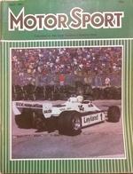 CA165 Autozeitschrift Motor Sport, April 1981, Vol. LVII, No. 4, Englisch, Neuwertig - Sport
