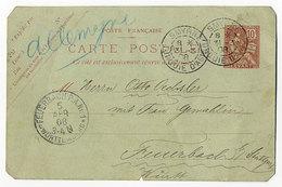 Frankreich,Levant,Ganzsache - Levant (1885-1946)