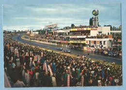 A101  CP  LE MANS (Sarthe) LES 24 HEURES DU MANS - Passage De Voitures  +++++ - Le Mans