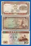 Macao  3  Billets - Macao