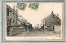 CPA - FERRIERE-la-GRANDE (59) - Aspect De La Rue Casimir-Fournier En 1907 - France