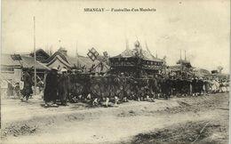 China, SHANGHAI, Funeral Procession Of Chinese Mandarin (1910s) Postcard - China