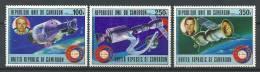 "Cameroun Aerien YT 269 à 271 (PA) "" Coopération Spatiale "" 1977 Neuf** - Kameroen (1960-...)"
