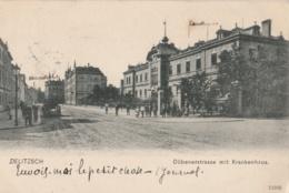ALLEMAGNE (Saxe) - DELITZSCH - Dübenerstrasse Mit Krankenhaus - Delitzsch