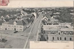 ALLEMAGNE (Saxe) - DELITZSCH - Blick A.d. Rossplatz U. D. Eilenburgerstrasse - Delitzsch