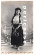 Van Gelder  (carte Photo 1908 ) - Artistes