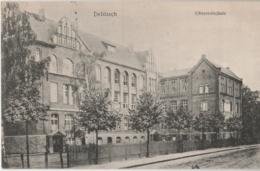 ALLEMAGNE (Saxe) - DELITZSCH - Oberrealschule - Delitzsch