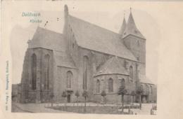 ALLEMAGNE (Saxe) - DELITZSCH - Kirche - Delitzsch