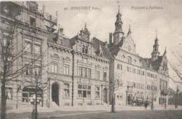 ALLEMAGNE (Thuringe) - ARNSTADT - Postamt Und Rathaus - Poste Et Mairie - Arnstadt