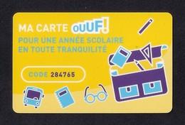 Carte Cadeau.   Ma Carte Ouuf ! Carrefour.    Gift Card. - Cartes Cadeaux