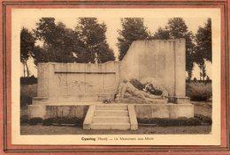 CPA - CYSOING (59) - Aspect Du Monument Aux Morts Dans Les Années 30 - France