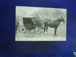 1907 PARIS LES FEMMES COCHERS Mme LUTGEN EX COMTESSE DU PIN DE LA GUERINIERE BON ETAT - Autres