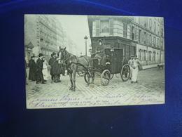 1907 PARIS LES FEMMES COCHERS Mme DUFAUT BON ETAT - Francia