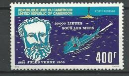"Cameroun Aerien YT 290 (PA) "" Jules Verne "" 1978 Neuf** - Kameroen (1960-...)"