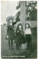 AUSTRALIAN SERIES : WAITING FOR A TELEGRAM (THREE GIRLS WITH HATS) - Australia