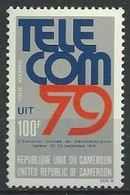 "Cameroun Aerien YT 295 (PA) "" Telecom "" 1979 Neuf** - Kameroen (1960-...)"