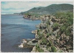 Australia TASMANIA Rugged Coast TASMAN PENINSULA Engelander Kruger 798/10 Postcard C1960s - Port Arthur