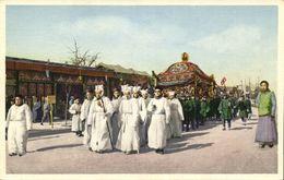 China, PEKING PEIPING, The Funeral Procession (1920s) Hartung 64 Postcard - China