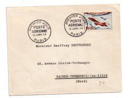 Premier Jour - Poste Aérienne 1954- Voir état - FDC