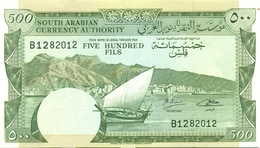 500 FILS ARABIE DU SUD 1965 - Jemen