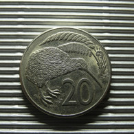 New Zealand 20 Cents 1986 - Nouvelle-Zélande