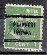 USA Precancel Vorausentwertung Preo, Locals Iowa, Plover 712 - Vereinigte Staaten