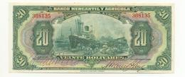 20 BOLIVARS 1929 BANQUE MARCHANDE ET AGRICOLE - Venezuela
