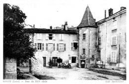 REGNY (42) - LA TOUR DU XVIème Siècle  -      Bb-923 - Saint Just Saint Rambert