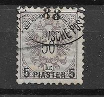 1888 USED Levant - Eastern Austria