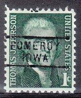 USA Precancel Vorausentwertung Preo, Locals Iowa, Pomeroy 729 - Vereinigte Staaten