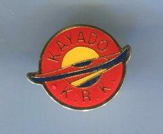 Pin's - CANOE KAYAK - KAYADO - Canoeing, Kayak
