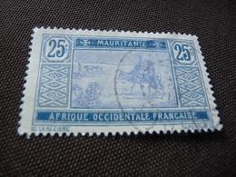 TIMBRE  MAURITANIE   N  24     COTE 1,50  EUROS    OBLITÉRÉ - Oblitérés